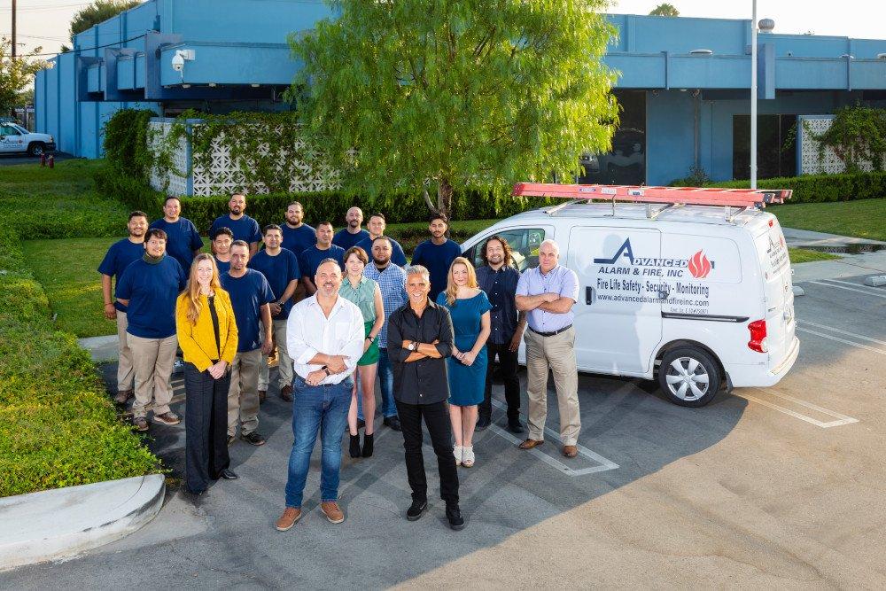 Advanced Alarm Team Photo